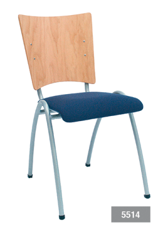 Multifunctionele stoel Elegance, kantinestoel of zaalstoel